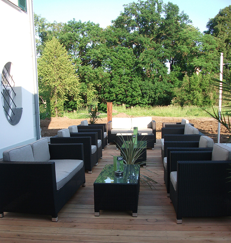 Außen-Lounge