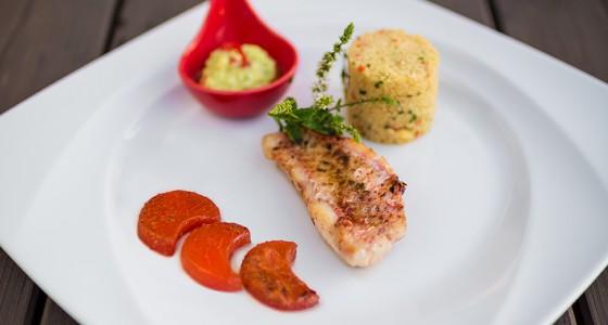 Fisch essen in Nördlingen