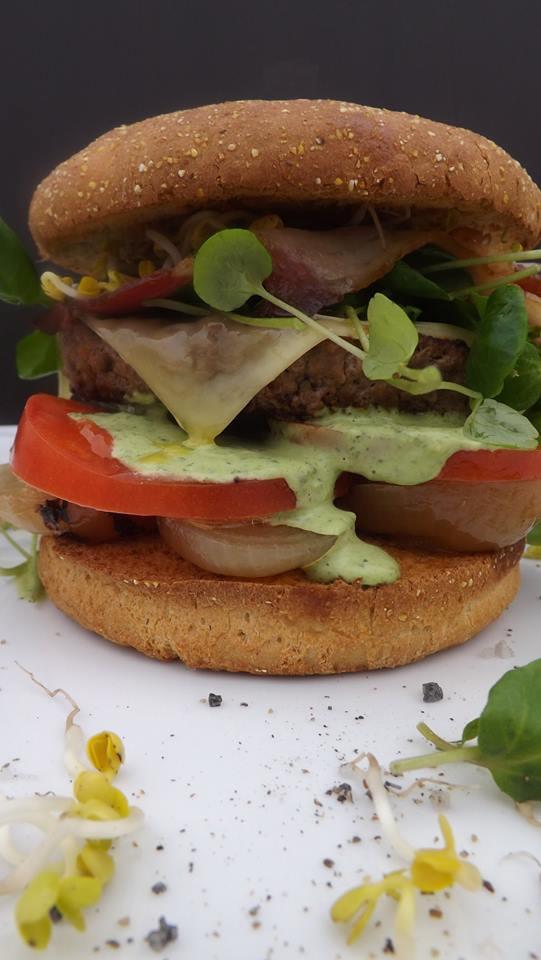 Doppel-Rind-Burger