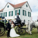 Hochzeitskutsche für Hochzeitsfeier mieten
